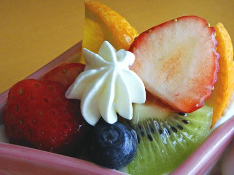 菱アラモードのフルーツ