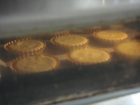 オーブンで焼き上げます