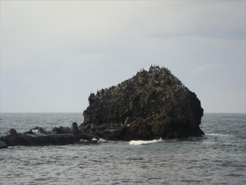 弁天岩の隣