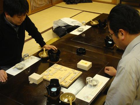 GEN様と加藤先生の将棋対決