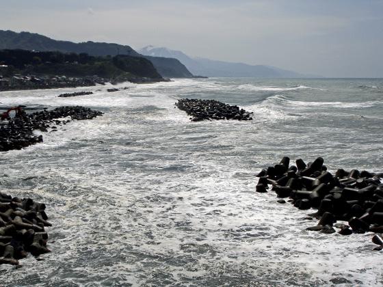 荒れた日本海