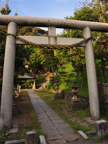 白山神社第1の鳥居