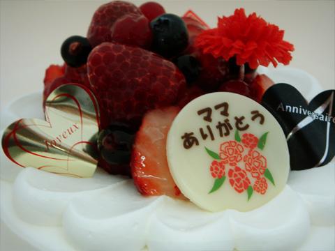 母の日デコレーションケーキ2