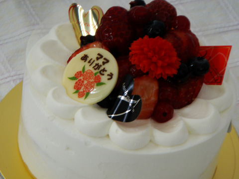 母の日デコレーションケーキ5