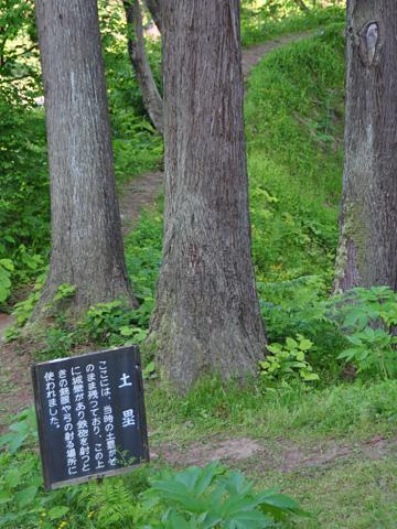 春日山城土塁跡