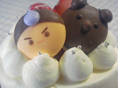 こどもの日デコレーションケーキ?