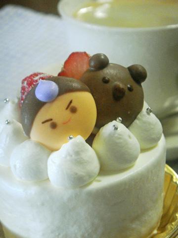 こどもの日プチデコレーションケーキ