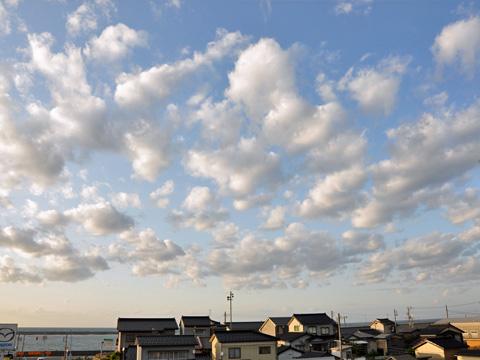 糸魚川の空1