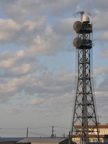 糸魚川の鉄塔