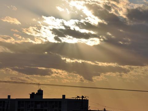 糸魚川天使の梯子