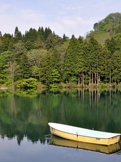 高浪の池のボート3