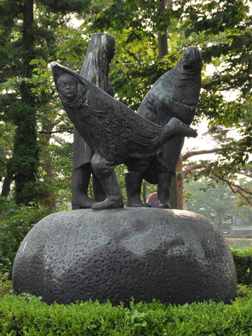 高田公園・オブジェ1