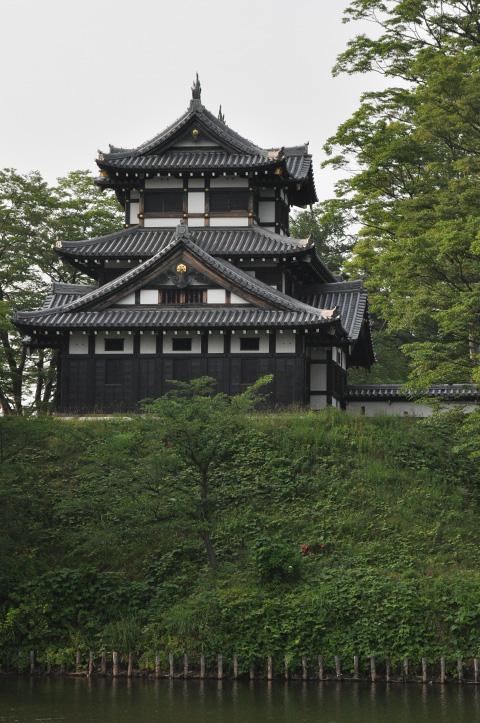 高田公園・お堀とお城