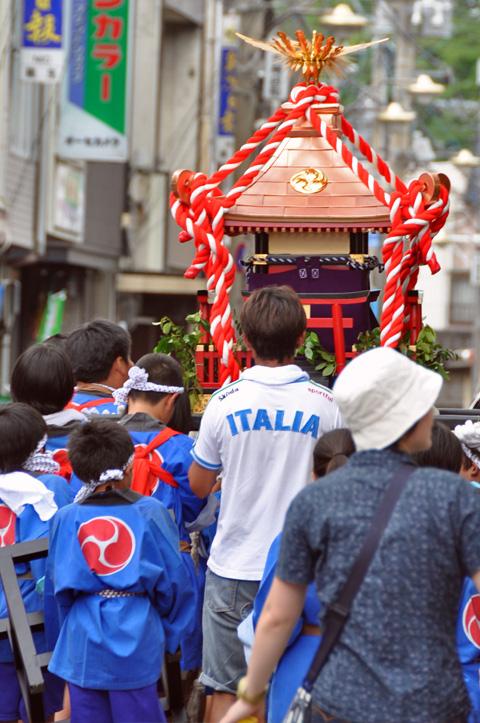 能生町祇園祭・子供神輿