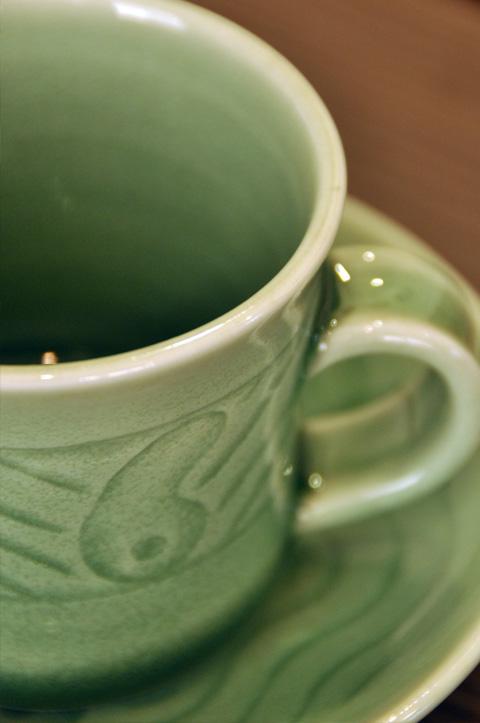 ひすいのコーヒーカップ