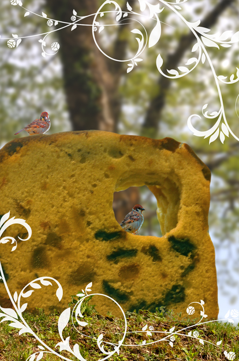 森のフルーツケーキ