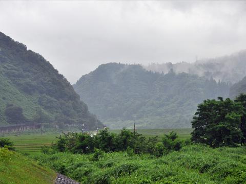 糸魚川の山々