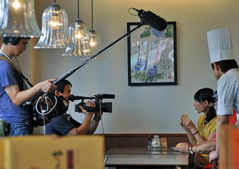 UX様のテレビ撮影