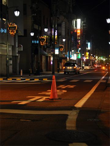 エキカモ・夜の交通規制