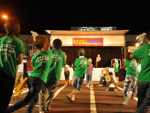 エキカモ・夜のメインステージ