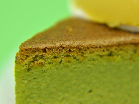 黒糖プリンと抹茶のケーキ2