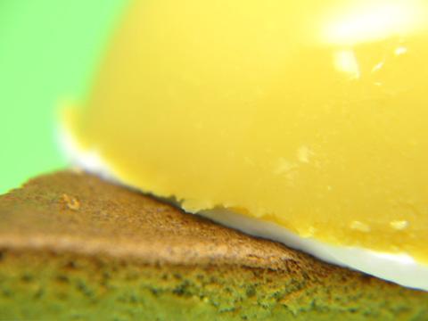 黒糖プリンと抹茶のケーキ3