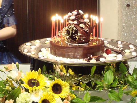 妹のバースデーケーキ