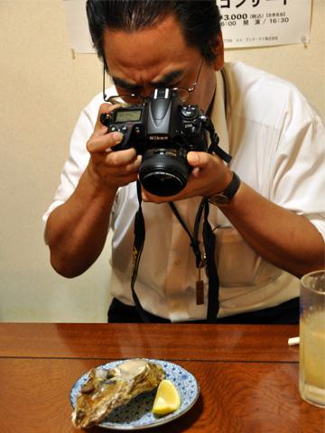 加藤先生と牡蠣