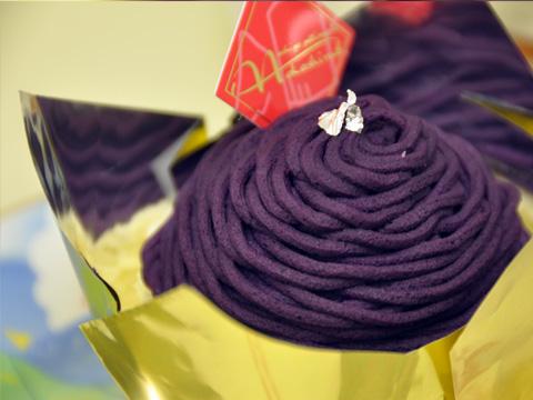 紫芋のモンブラン4