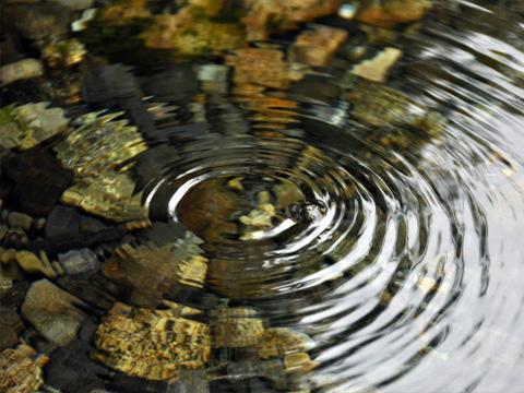 安曇野の湧水