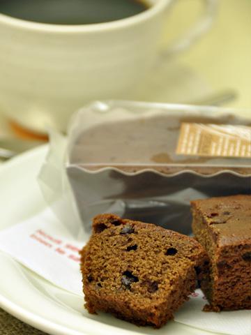 チョコとカラメルのケーキ1