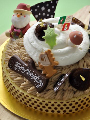 2009年クリスマスケーキ1