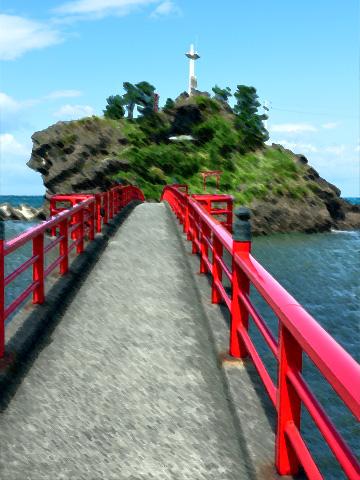 糸魚川・弁天岩