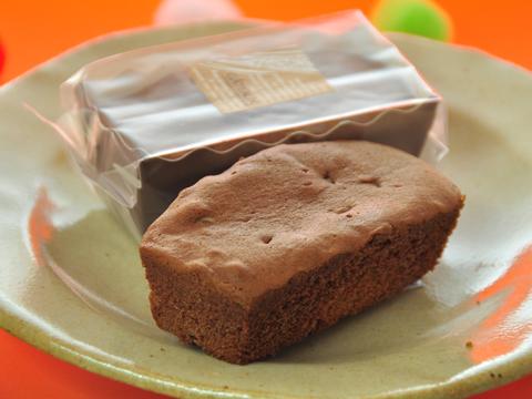 チョコとカラメルのケーキ2
