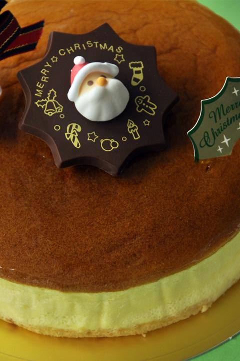 スフレチーズでクリスマス1