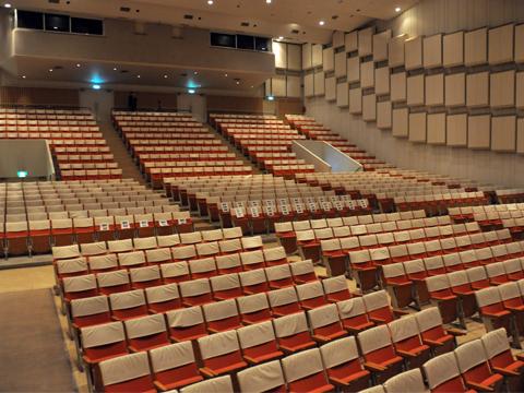 糸魚川市民会館のホール