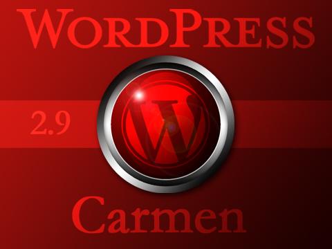 "WordPress2.9""カルメン"""