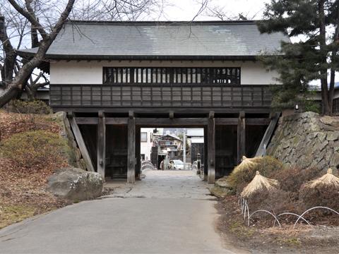 高島城・冠木門