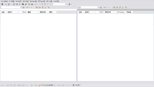 WinSCPの接続画面