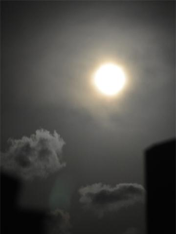 夜の月失敗1