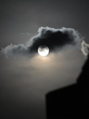 夜の月失敗2
