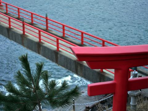 鳥居とあけぼの橋
