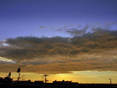 糸魚川の春の空