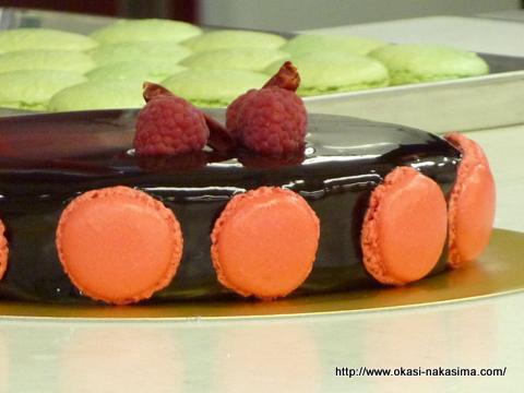 セバスチャン・ブイエ氏のケーキ