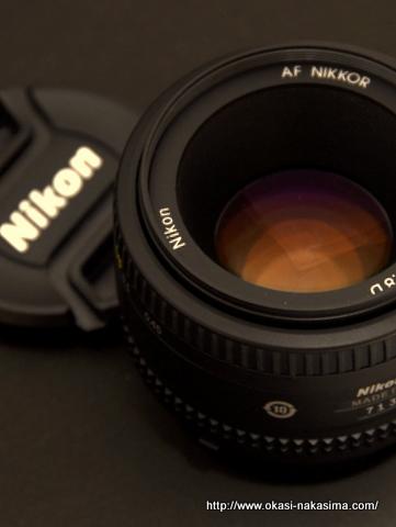 ニコン単焦点50mm