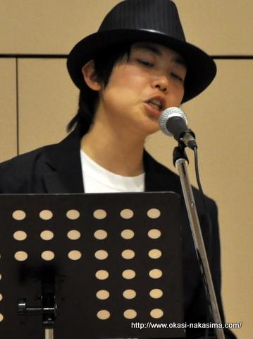 山岸桐吾さんのコンサート風景