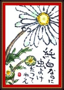 奴奈絵手紙会さんの絵手紙1-3