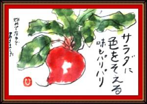 奴奈川絵手紙の会さんの絵手紙3-7
