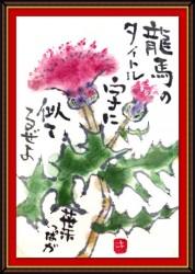 7月の絵手紙1-3