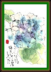 7月の絵手紙1-6
